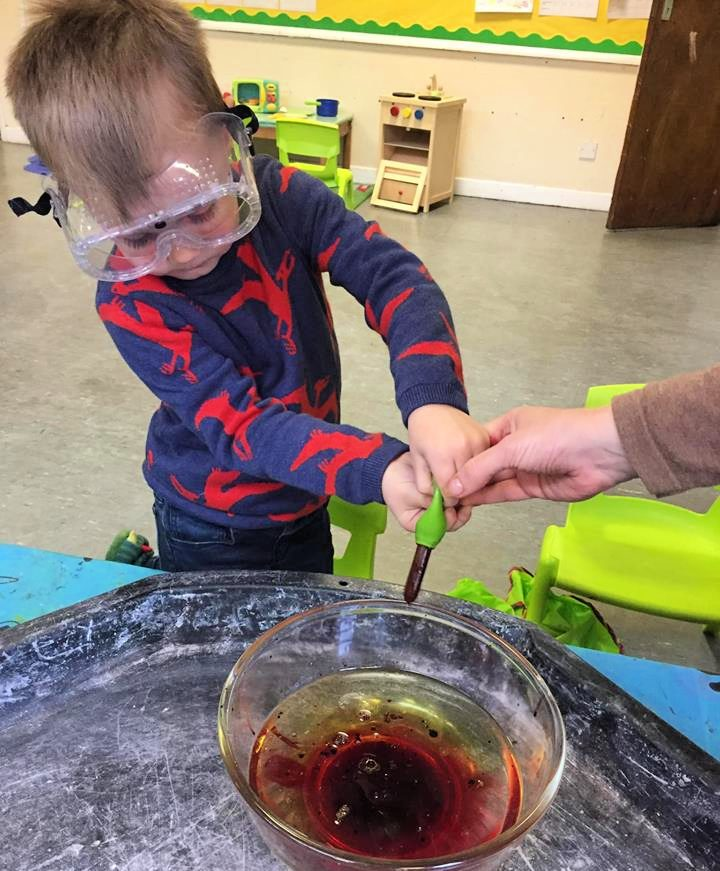 Learning through play at Leigh Wesley Pre School